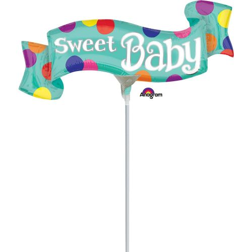 Sweet Baby Banner Mini Shape Flat